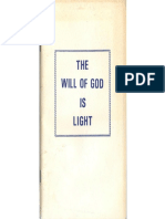 The Will of GOD is Light