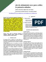 Informe Practica 2 Medida Del Estado de Aislamiento Seco Para Cables de Potencia Aislados