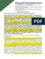 Contaminacion de Metales Pesados y Efectos Biotoxicos Humanos1