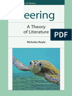 (Frontiers of Theory) Royle, Nicholas-Veering _ a Theory of Literature-Edinburgh University Press (2011)