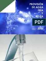 Clase No 1 Provision de Agua Fria y Agua Caliente para el estudio y calculo de red domiciliaria de agua fria y caliente