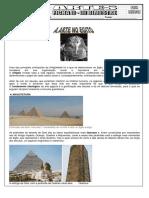 Ficha História da Arte - Arte Egito