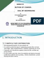 Sedimaging technique in soil classification