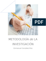 METODOLOGÍA DE LA INVESTIGACIÓN EMMANUEL