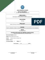 Modelo de Projeto de Extenso 2012