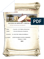Fe Pública Notarial