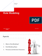 Prezentare Role Modeling