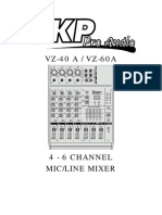 SKP Vz-60a User Manual