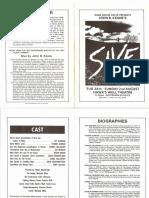 Sive Programme 1987