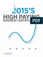 High Paying Business Certifications 2