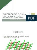 Electrolisis de Una Solucion Acuosa de Yoduro de Potasio