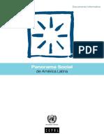 Panorama social en América Latina CEPAL