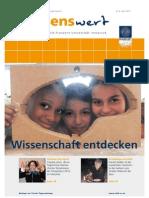 wissenswert 08 - Magazin der Leopold-Franzens-Universität Innsbruck