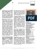 DSE501 Data Sheet