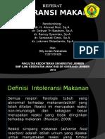 INTOLERANSI MAKANAN