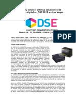 GIGABYTE exhibe últimas soluciones de señalización digital en DSE 2016 en Las Vegas_1