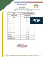 Titanium Dioxide Rutile  -  Chemiglob.com - Product Sheet for TiO2 Rutile