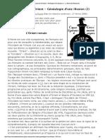 La Naissance de l'Orient - Généalogie d...illusion (2) - La Revue des Ressources
