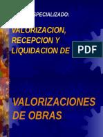 A. Exposicion - Valorizaciones de Obra - Supervision
