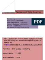 Systematic Review and Meta Analysis Klp 6