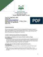 revised sw 4997 dr  sandra schiff syllabus winter  2016  2