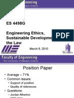 ES 4498G Lecture 8 - 2010
