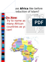 AP World African History