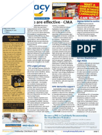 Pharmacy Daily for Wed 23 Mar 2016 - CMs are effective - CMA, Arrow, MedAdvisor sign MoU, Sigma pharmacy resource centre, Health AMPERSAND Beauty and much more