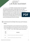 Security & Rules Quickstart - Firebase