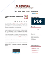 Configuracion respaldos WS2012