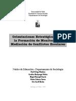 Orientaciones Estrategicas Para La Formacion de Monitores en Mediacion de Conflictos (1)