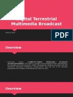 Digital Terrestrial Multimedia Broadcast