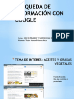 Busqueda de Información WEB