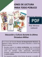 Curso de Ingreso 2016. Dictadura y Educación. Versión Final. Power