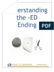 The ED Word Ending - A Guide for ESL Learners