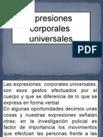 Expres. Corporales Universales