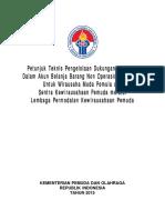 Petunjuk Teknis Dukungan Fasilitasi Bagi WMP Dan SKP Melalui LPKP
