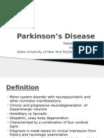 harrington r    mcdonald h   2016   parkinsons disease  state university of new york polytechnic institute