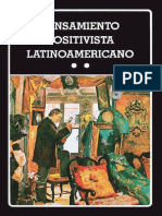 Pensamiento Positivista Latinoamericano II