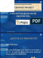 Conceptos MS Project