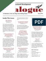 Dialogue Spring 2016