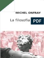 Michel Onfray Filosofia Feroz