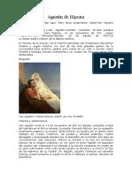 Agustín de Hipona y Religiones Mayoritarias
