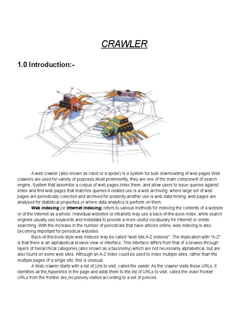 how to block web crawlers