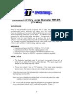 Cable Repair Procedure (OVER 1.75)