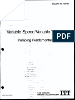 Variable Speed Variable Volume Pumping Fundamentals