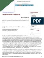 Género y Pobreza_ Determinantes de La Salud en La Vejez