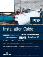 PVC Pressure Pipe & Fittings Installation Guide