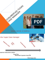 9. Dokumentasi Tugas Case Manager