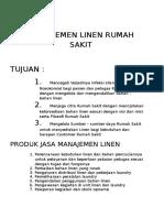 Manajemen Linen Rumah Sakit